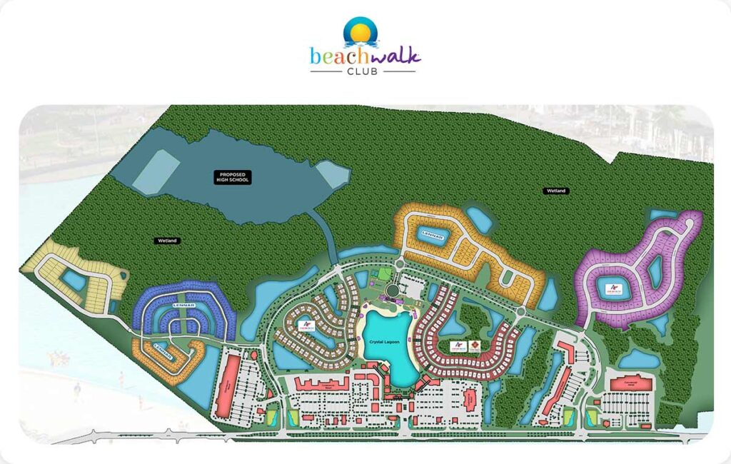 The Thayver Group Community Sitemap Beachwalk